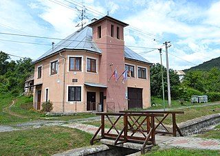 Hostišovce Village in Slovakia