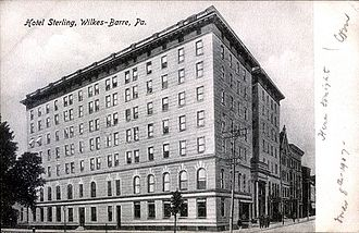 Wilkes-Barre, Pennsylvania - Hotel Sterling (built in 1897)