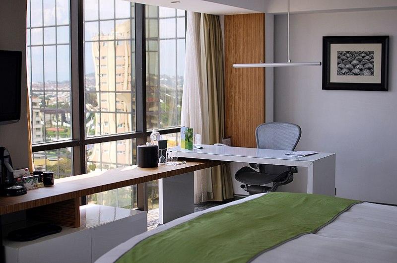 File:Hotel room in Hotel Presidente InterContinental Guadalajara.jpg