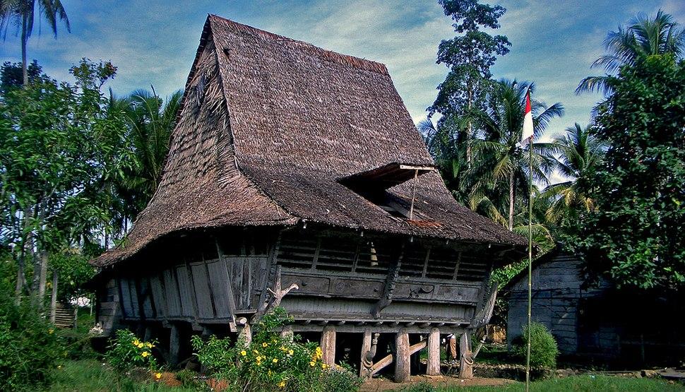 House in Nias North Sumatra