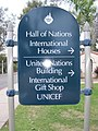 House of Pacific Relations - Int'l Cottages sign.JPG