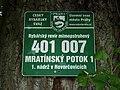 Hovorčovice, Hovorčovický rybník, rybářský revír Mratínský potok.JPG