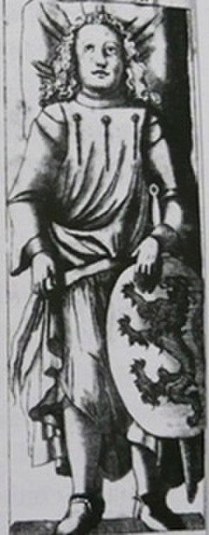 Theodoric I, Margrave of Meissen - Image: Hrobka 4