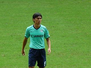 Huang Yang Hong Kong footballer