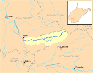 Huff Creek (West Virginia) river in the United States of America