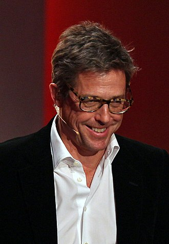 Hugh Grant - Grant during his Wetten, dass..? appearance in November 2014