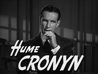 Hume Cronyn Canadian-American actor