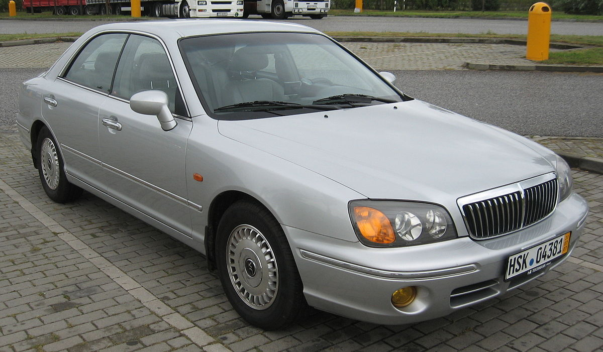 Px Hyundai Xg European Model Silver