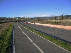 R774 road (Ireland) - R774 west, towards the N11