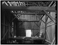 INTERIOR VIEW LOOKING NORTH - Crawford Guard Station, Barn, Cascade, Valley County, ID HABS ID,43-CASC.V,2A-5.tif