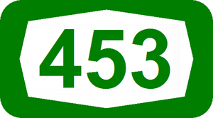 Highway 46 (Israel) - Image: ISR HW453