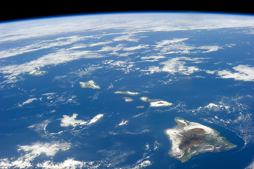 ISS-38 Hawaiian Island chain