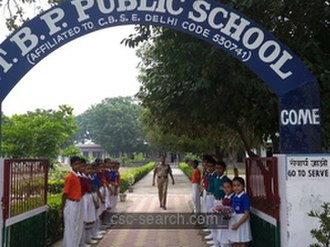 Indo-Tibetan Border Police - A school run by ESC personnel of ITBP