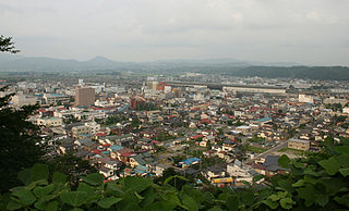 City in Tōhoku, Japan