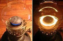 Central-draught  tubular-wick kerosene l& & Kerosene lamp - Wikipedia