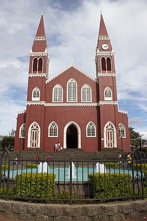 Grecia (canton) - Image: Iglesia de La Merced. Grecia