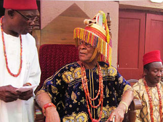 Nnewi - The 20th Obi of Otolo and Igwe (King) of Nnewi Kingdom, His Royal Highness Igwe Kenneth Onyeneke Orizu III