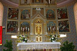 Ilmmuenster Kirche Altar