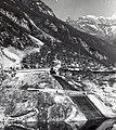 Impianto provvisorio pompe lago Vajont.jpg