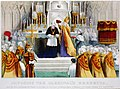 Imposing the Cardinal's berretta - upon his grace Archbishop McCloskey of New York, by his grace Archbishop Bayley of Baltimore, at St. Patricks Cathedral, N.Y., April 27th 1875 LCCN2002699698.jpg