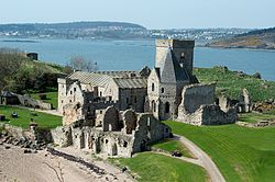 Inchcolm Abbey, Inchcolm, Firth of Forth, Scotland-9April2011.jpg