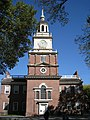 Independence Hall Clocktower in Philadelphia.jpg