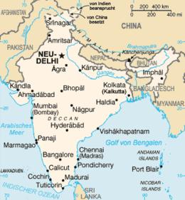 India - Mappa