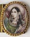 Indian - Bracelet with Portrait Miniatures - Walters 38665 - Detail F.jpg