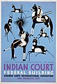 Indian court, Federal Building, Golden Gate International Exposition, San Francisco, 1939 LCCN98518807.jpg