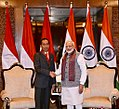 Indonesian President Joko Widodo meeting with Indian Prime Minister Narendra Modi on the sidelines of the 2018 ASEAN-India Summit in New Delhi (1).jpg
