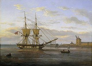 The seaward approach to Copenhagen