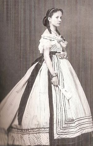 Isabella, Princess of Asturias (1851–1931) - Infanta Isabella at age fourteen. 1865
