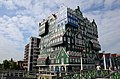 Inntel Hotel Zaandam as a variation on a typical Dutch building style. You can hate it or love it. It always give discussions pro and contra - panoramio.jpg