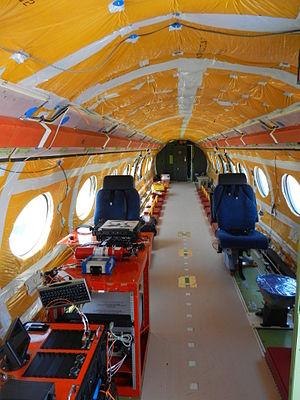 Gulfstream G650 - Prototype cabin