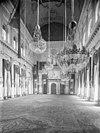 interieur grote burgerzaal naar het oosten - amsterdam - 20011628 - rce