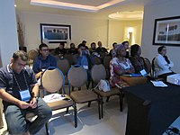 Introduction to Wikimania session at Wikimania 2018 05.jpg