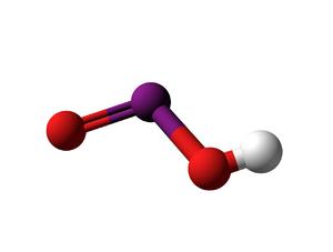 Iodous acid - Image: Iodous Acid 3d B