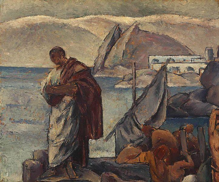 Plik: Ion Theodorescu-Sion - Ovidiu w exil.jpg