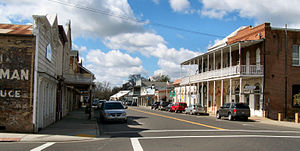 Ione, California - Main Street in Ione