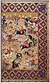 Iran, shiraz, scena di caccia, 1550 ca. 01.jpg