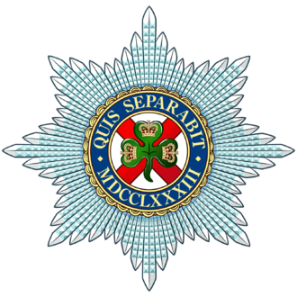 Irish Guards - Regimental badge of the Irish Guards