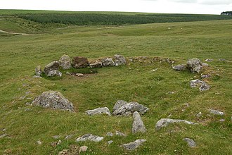 Rough Tor - Iron Age remains, Rough Tor.