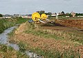 Irrigation equipment beside Mildenhall Drain - geograph.org.uk - 1516881.jpg
