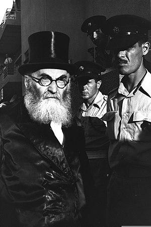 Isser Yehuda Unterman - Isser Yehuda Unterman, 1949