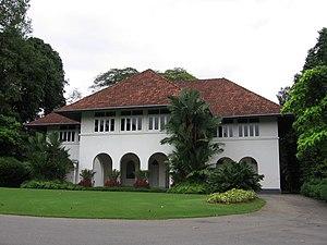 Istana (Singapore) - The Istana Villa