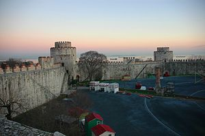 Yedikule - Image: Istanbul Castell de Yedikule