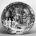 Italian - Dish with Diana and Nymphs Bathing - Walters 481340.jpg