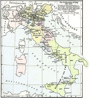 Italian irredentism - Italian unification process (Risorgimento)