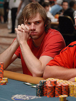 Demidov op de World Series of Poker 2008.