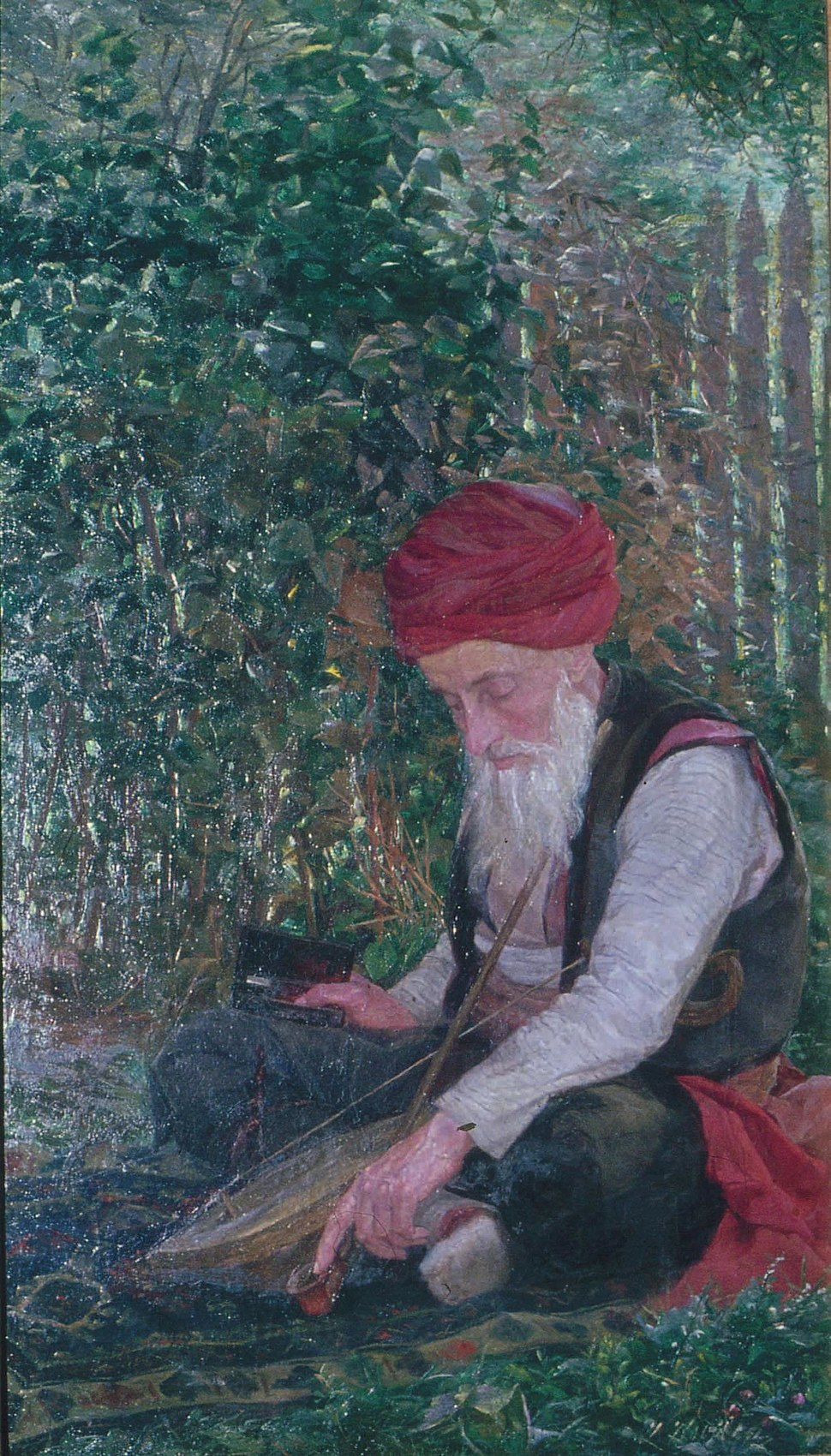 Ivana Kobilca - Bošnjak z goslimi